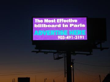 digital billboard outdoor