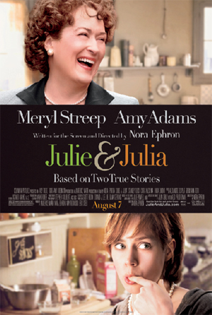 Julie and Julia movie poster